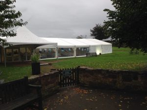 marquee hire north west