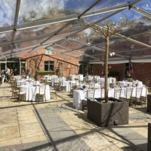 Arley Hall marquee hire