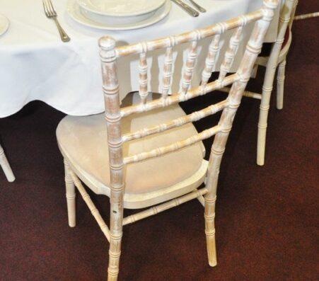 Limewash Chiavari Banqueting Chairs | Marquees.Com
