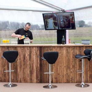 Marquee Bar Hire in Cheshire