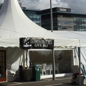 Media City marquee