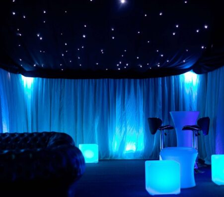STARLIGHT CEILINGS & Mirror balls | Marquees.Com