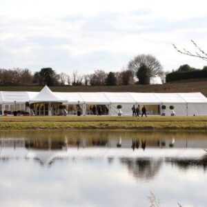Delamere Events open weekend Clearspan Marquee
