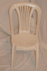 WHITE BISTRO CHAIR - NEED NEW PIC