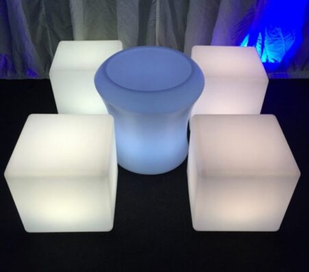 LED Furniture – cube sets | Marquees.Com