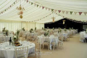 emma 2 wedding marquee in cheshire