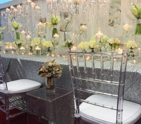 Ghost Banqueting Chairs | Marquees.Com