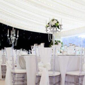 marquee Wedding setting