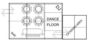 option-50-2 floor plan marquee hire
