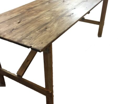 Vintage trestle tables | Marquees.Com