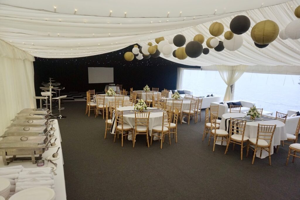 Clear span marquees cheshire