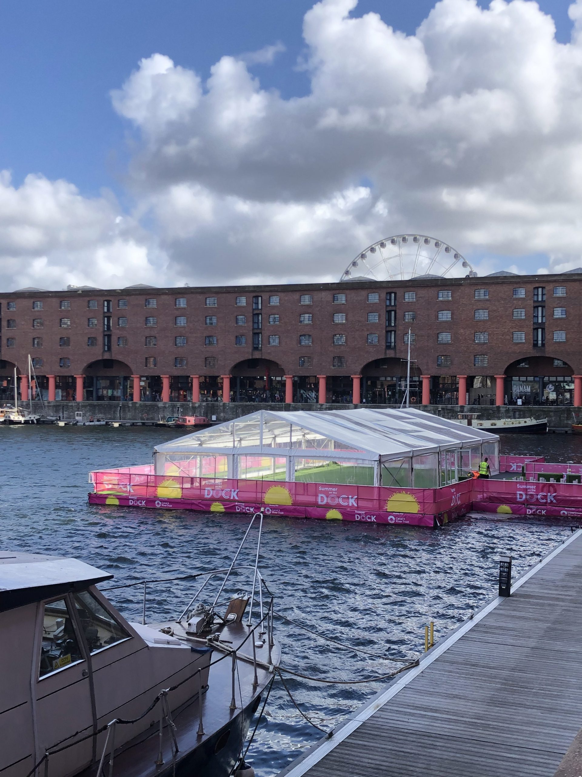 ROYAL ALBERT DOCK FOOD FESTIVAL | Marquees.Com