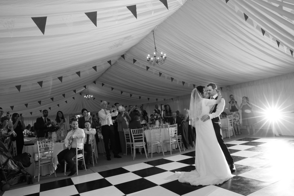 Weddings Cheshire with Clearspan marquee